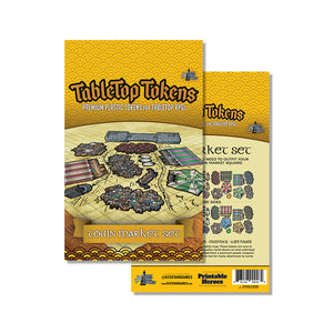 Tabletop Tokens Town Market Set