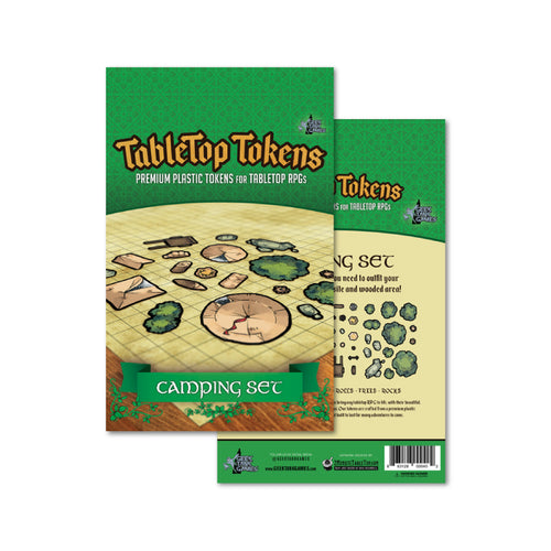 Tabletop Tokens Camping Set