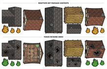 Tabletop Tokens Rooftops Set