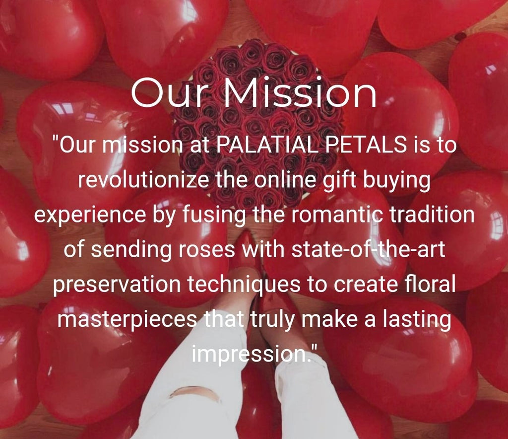 mission statement - Palatial Petals