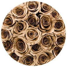 24K Gold Preserved Roses That Last A Year - Medium Gold Rose Box - Palatial Petals