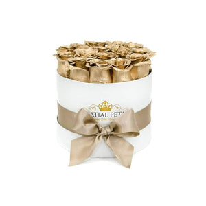 24K Gold Roses That Last A Year - Classic Rose Box - Palatial Petals