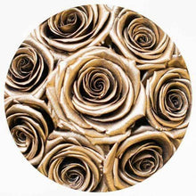 24k Gold Roses That Last A Year - Petite Rose Box - Palatial Petals