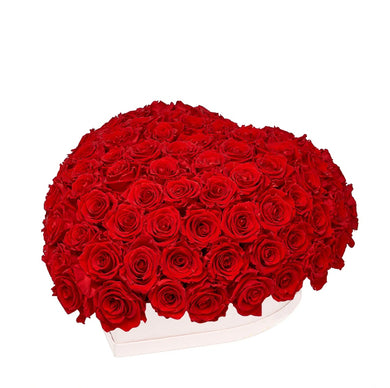 Louboutin Red Roses That Last A Year - Love Heart