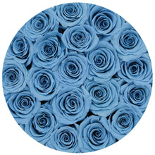 Baby Blue Roses That Last A Year - Classic Rose Box - Palatial Petals