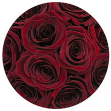 Red Wine Roses That Last A Year - Petite Rose Box