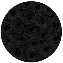 Black Roses That Last A Year - Medium Rose Box - Palatial Petals