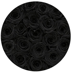 Black Magic Roses That Last A Year - Medium Rose Box - Palatial Petals