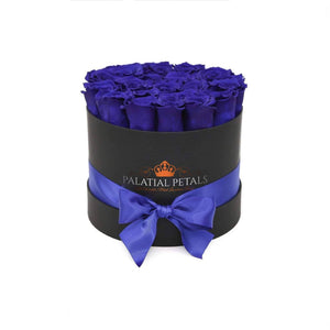 Blue Roses That Last A Year - Classic Rose Box - Palatial Petals