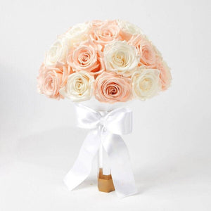 Pearl Luxury Eternity Rose Bridal Bouquet