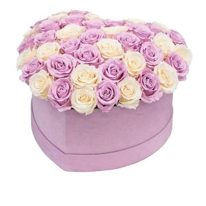 Bridal Roses That Last A Year - Love Heart Box - Palatial Petals