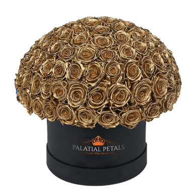 24k Gold Roses That Last A Year - Grande
