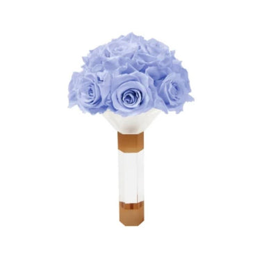 Lavender Luxury Eternity Rose Bridesmaid Bouquet - Palatial Petals