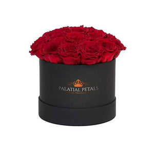 Louboutin Red Roses That Last A Year - Classic Rose Box - Palatial Petals
