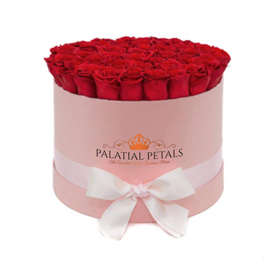 Louboutin Red Roses That Last A Year - Grande Rose Box - Palatial Petals