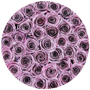 Metallic Pink Roses That Last A Year - Classic Rose Box - Palatial Petals