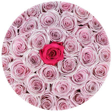 Metallic Pink Roses That Last A Year - Grande Rose Box - Palatial Petals