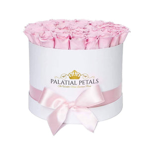 Pink Roses That Last A Year - Large Rose Box - Palatial Petals