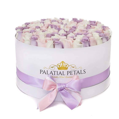 Princess Roses That Last A Year - Deluxe Rose Box - Palatial Petals