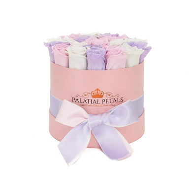 Princess Roses That Last A Year - Medium Rose Box - Palatial Petals