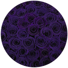 Purple Roses That Last A Year - Grande Rose Box - Palatial Petals