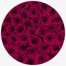 Red Wine Roses That Last A Year - Grande Rose Box - Palatial Petals