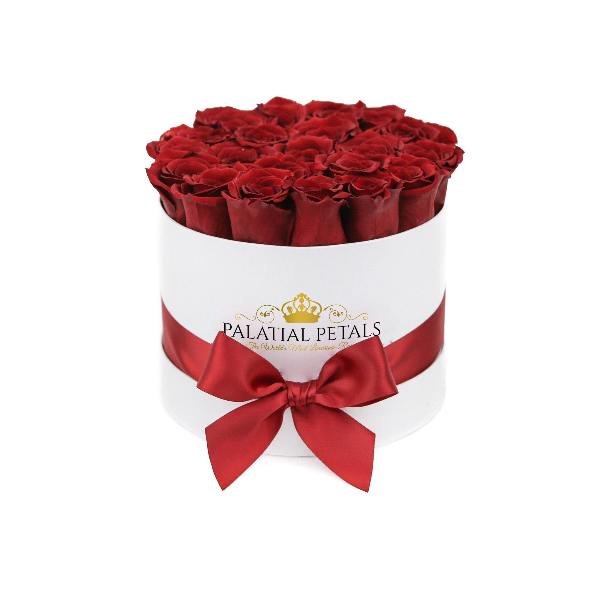 Louboutin Red Roses That Last A Year - Classic Rose Box