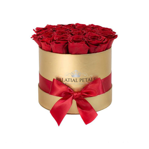 Red Roses That Last A Year - Classic Rose Box