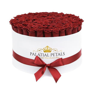 Red Roses That Last A Year - Deluxe Rose Box