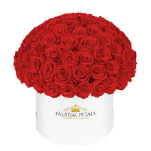 "Red Roses That Last A Year - Grande ""Crown"" Rose Box"