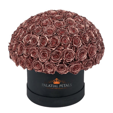Rose Gold Roses That Last A Year - Grande