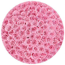 Pink Roses That Last A Year - Deluxe Rose Box - Palatial Petals