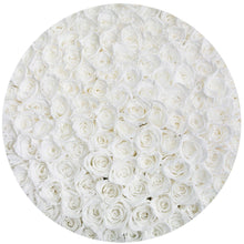 White Roses That Last A Year - Deluxe Rose Box - Palatial Petals