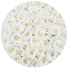 White Roses That Last A Year - Large Rose Box - Palatial Petals