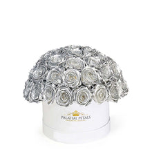 "Silver Roses That Last A Year - Classic Rose ""Crown"""