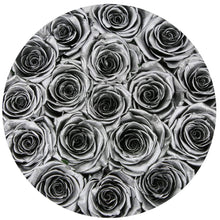 Silver Roses That Last A Year - Classic Rose Box - Palatial Petals