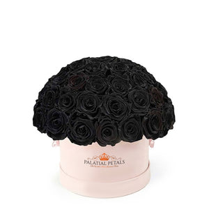 "Black Roses That Last A Year - Classic ""Crown"""