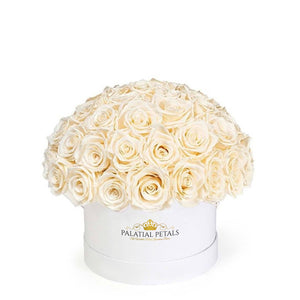 "Champagne Roses That Last A Year - Classic Rose ""Crown"""
