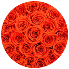 Hermès Orange Roses That Last A Year - Classic Rose Box - Palatial Petals