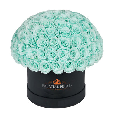 Tiffany Blue Roses That Last A Year - Grande