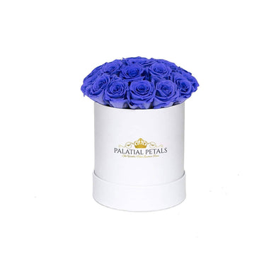 Violet Roses That Last A Year - Petite Rose Box - Palatial Petals