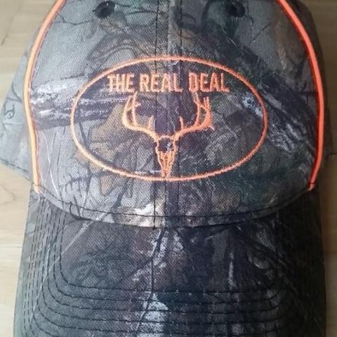 The Real Deal Camo Hat