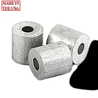 ALUMINUM 1/16 SINGLE FERRULES (100)