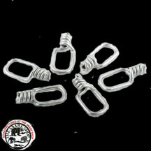 11 GA SNARE SWIVELS 12 PACK