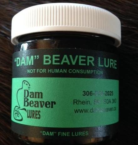 """DAM"" BEAVER LURE 100ml JAR"