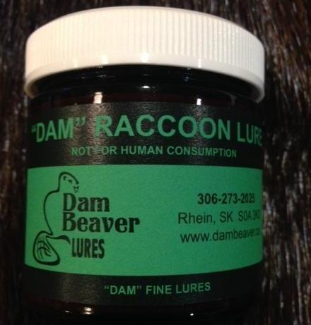 """DAM"" RACCOON LURE 100ml JAR"