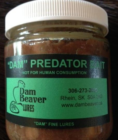 """DAM"" PREDATOR BAIT 250ml JAR"