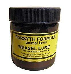 FORSYTH LURES - WEASEL LURE 50ml