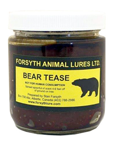 FORSYTH LURES - BEAR TEASE 250ml