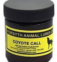 FORSYTH LURES - COYOTE CALL 50ml